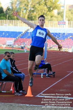 Чемпионат России среди молодежи по легкой атлетике